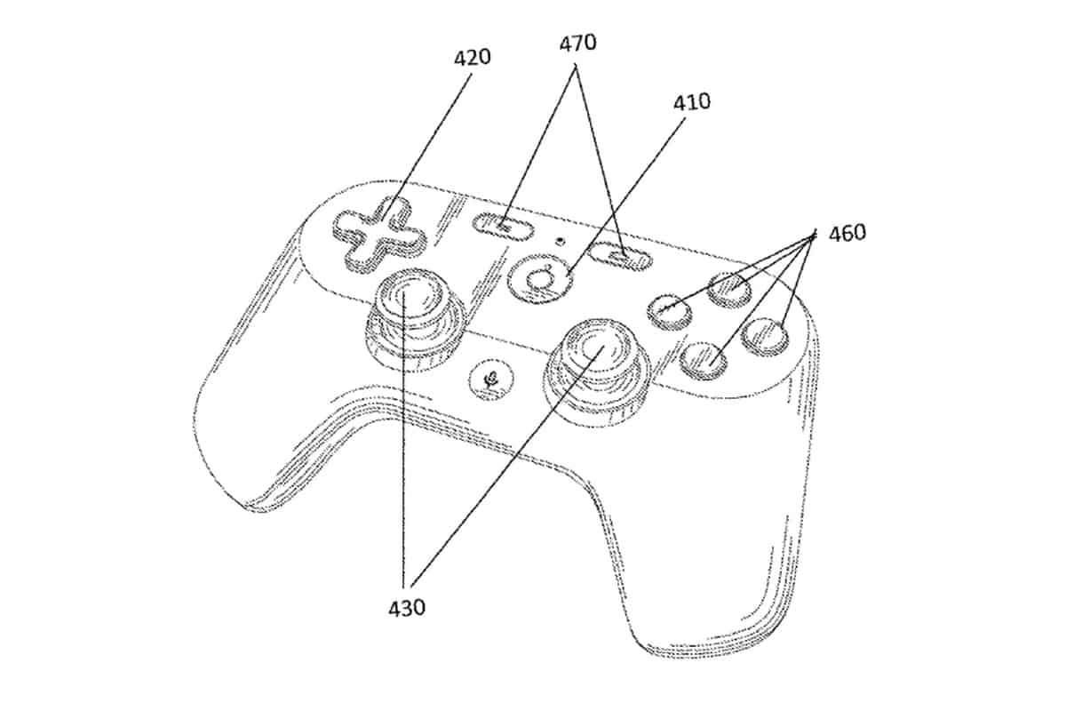 Google's patented controller