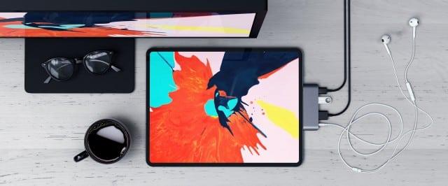 iPad Pro uses USB-C