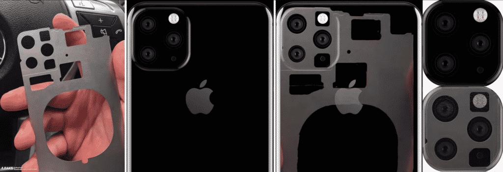 2019 iPhone XI back plate