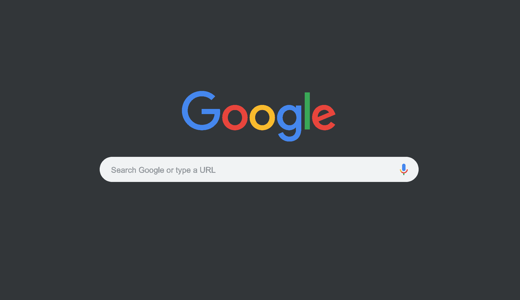 Google Search Dark Mode