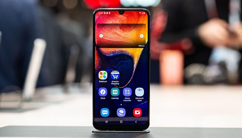 Samsung Galaxy A50 latest firmware update fixed Smart View