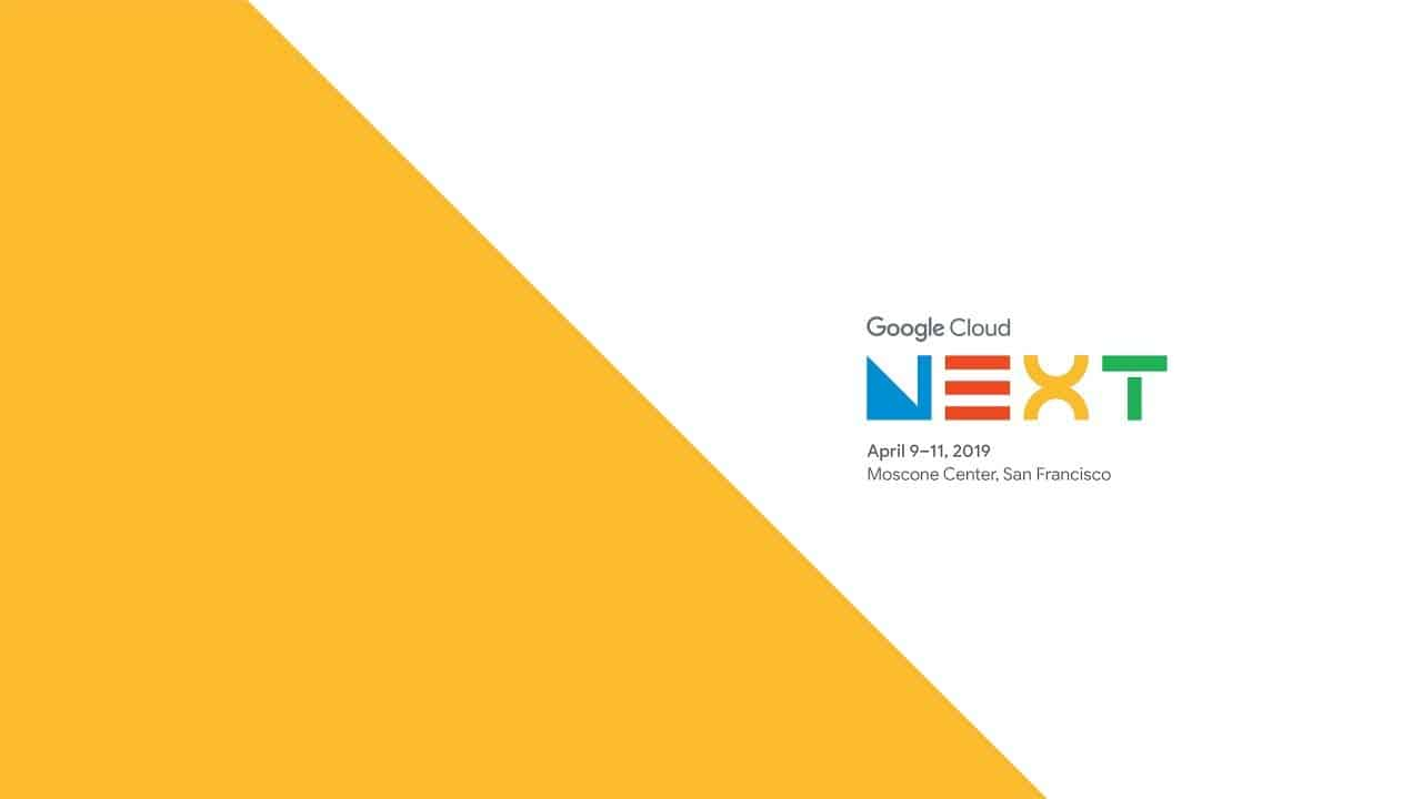 Google Cloud Next 19