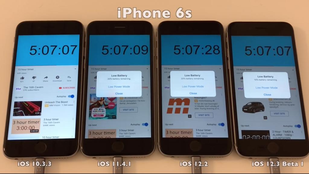 iOS 12.2 battery drain