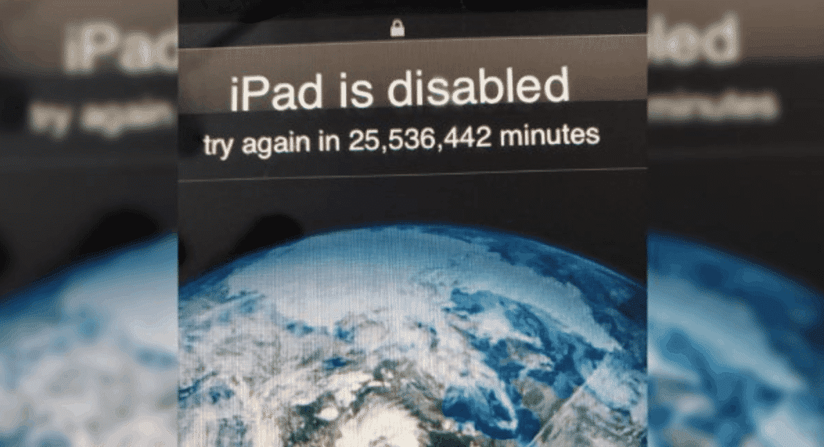 iPad Locked for 47 years