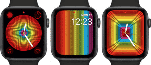 Apple Releases New Pride Watch Faces for Apple Watch on the watchOS 5.2.1