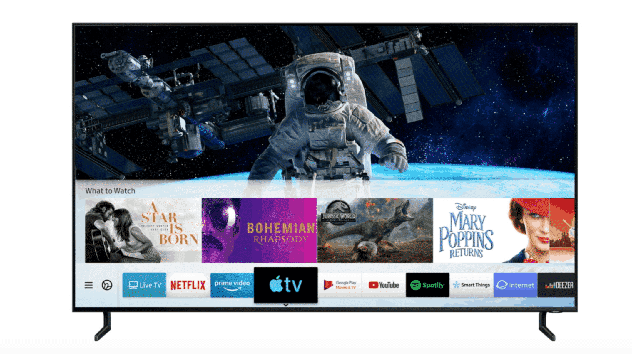 Apple TV App and AirPlay 2 on Samsung Smart TV