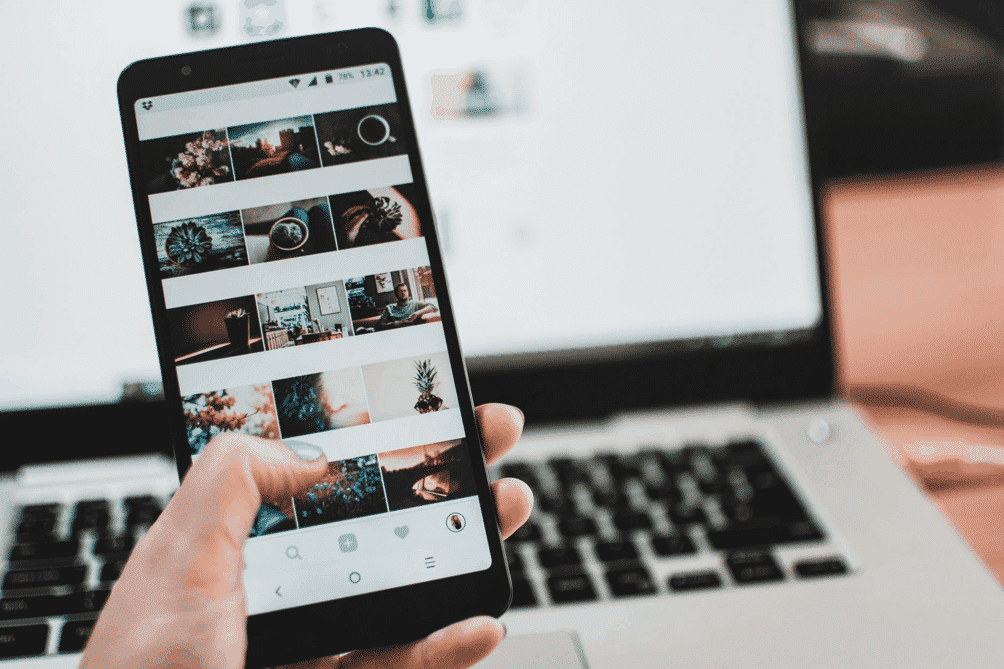 Creating technology-related content for Instagram