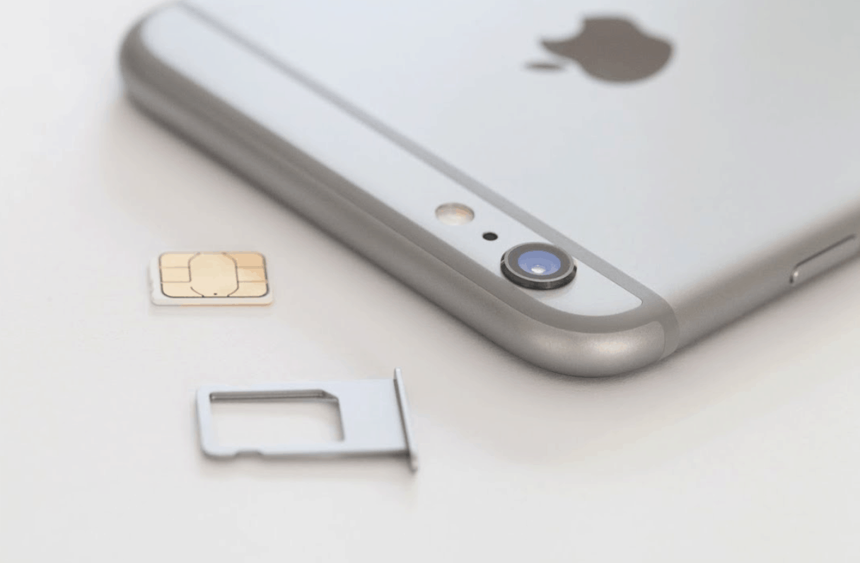 How to put a SIM card in an iPhone 6