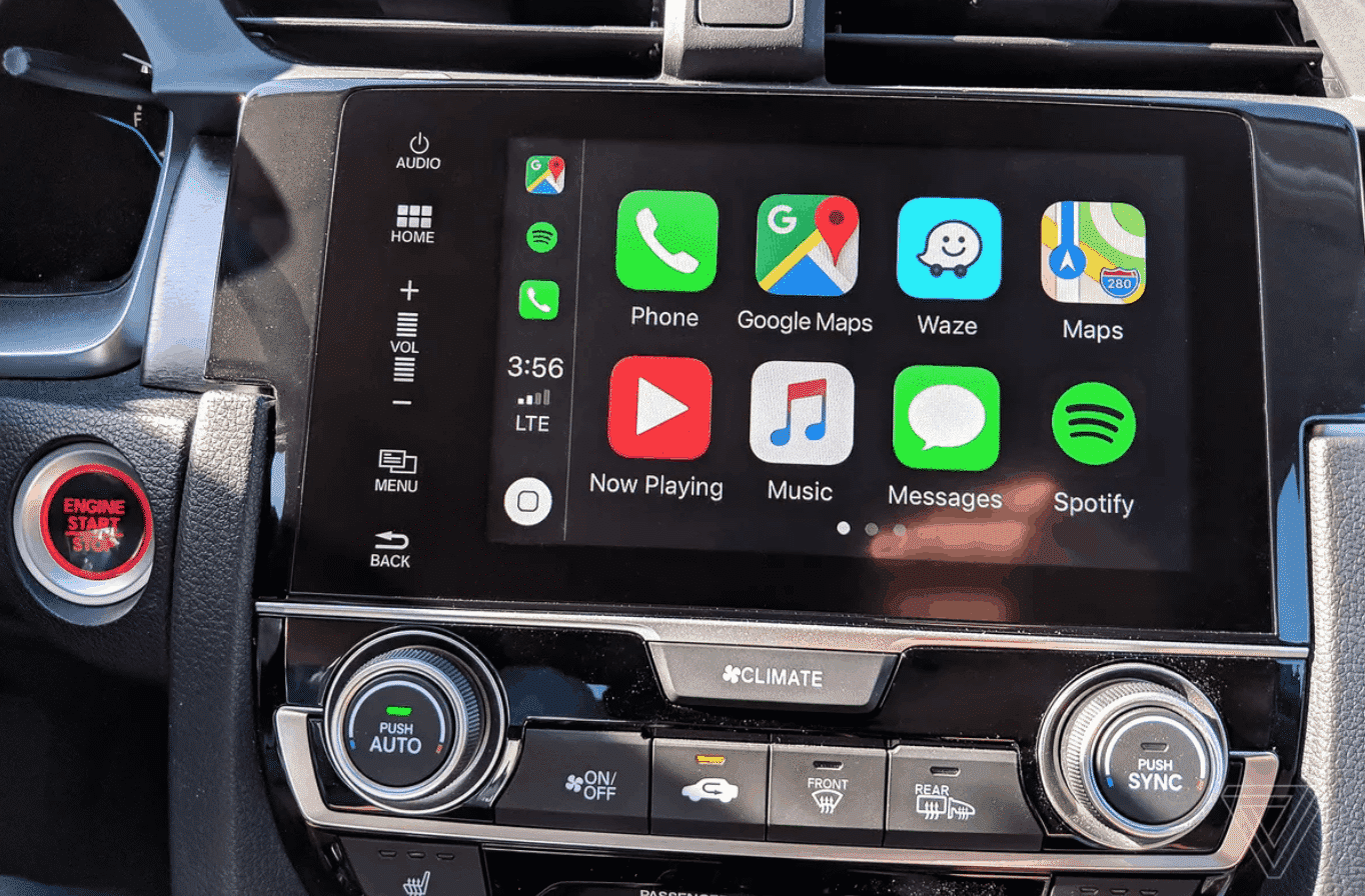 Lexus RX CarPlay