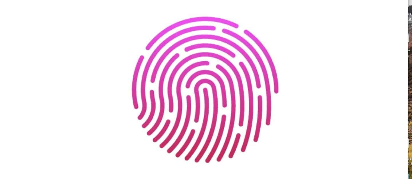 Screen Touch ID