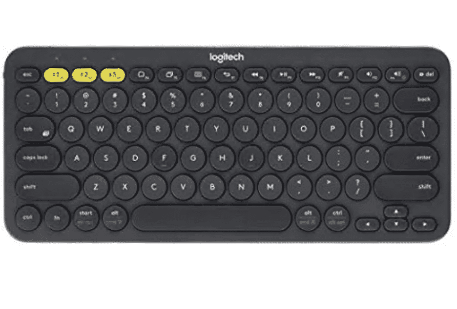 iPad Mini 5 Logitech K380 Keyboard
