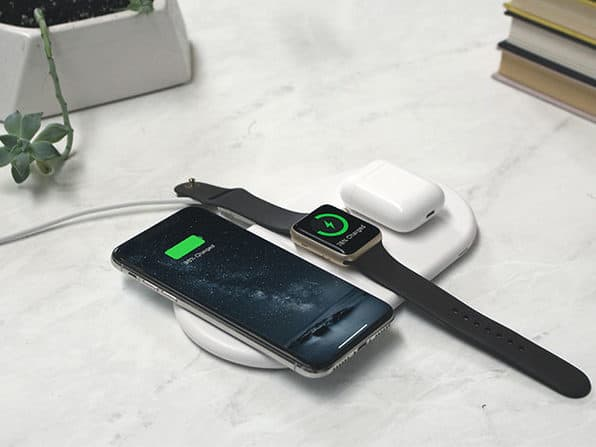 AirZeus 3-in-1 Fast Wireless Charging Pad for iPhone