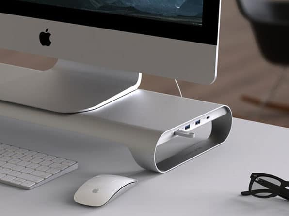 Aluminum Monitor Stand for Mac