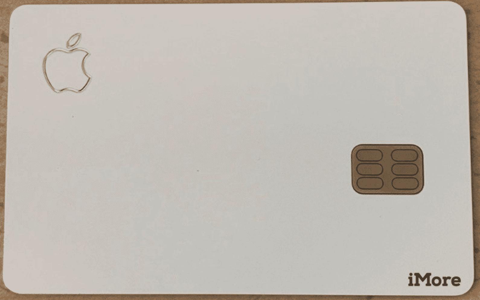 Apple Card Leaked