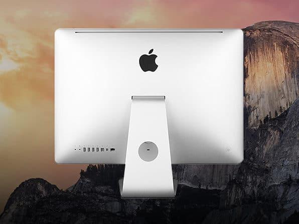 Apple iMac back image