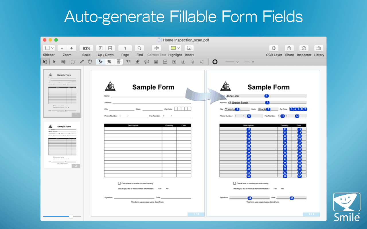 Filling Form Fields PDF Editor