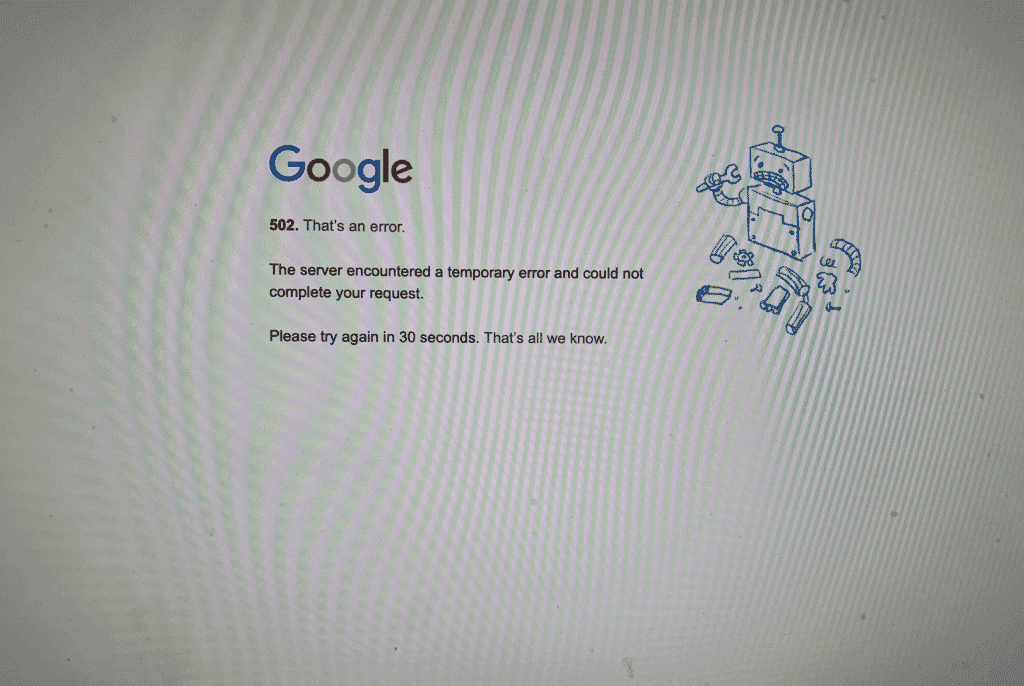 YouTube Down Image 2