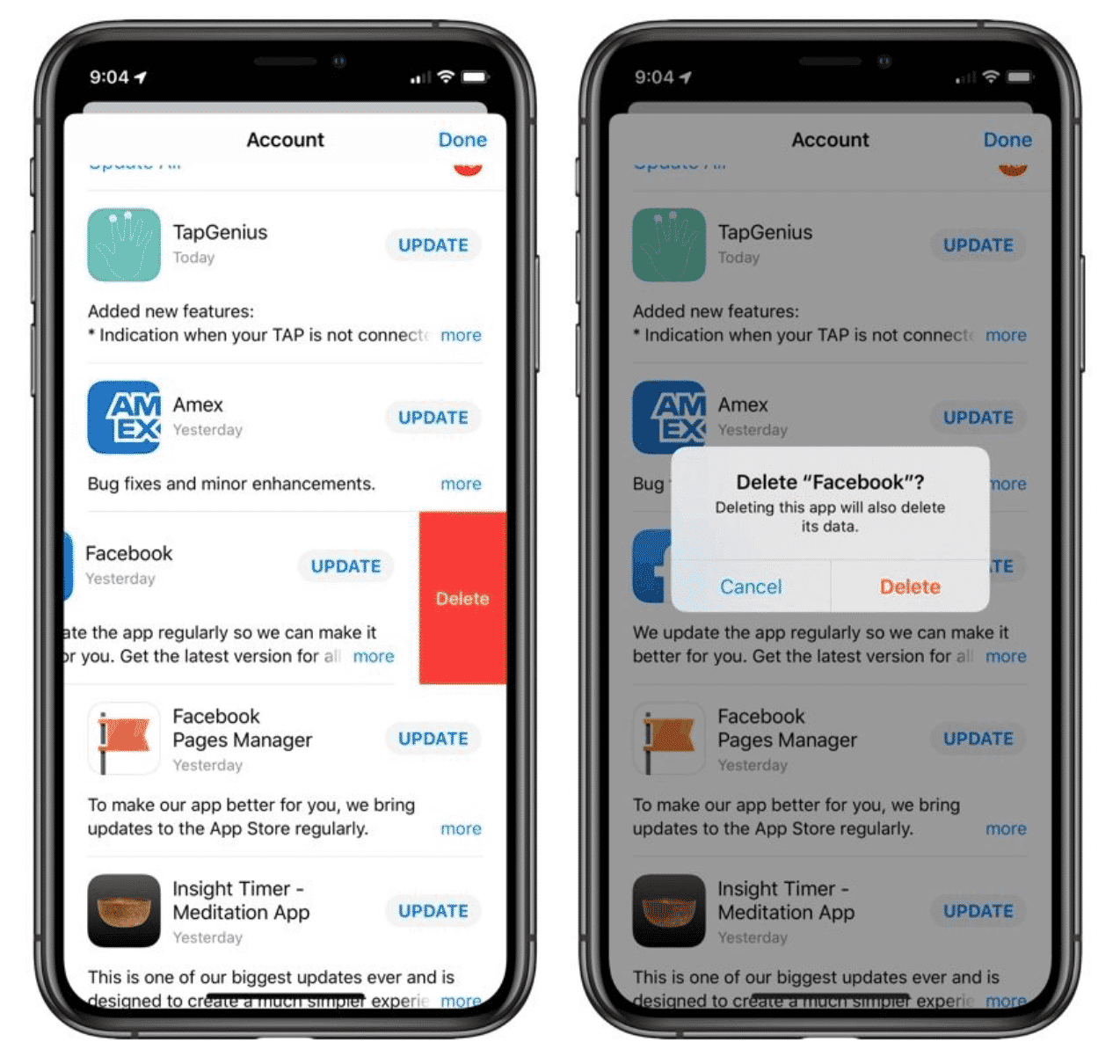 iOS 13 App Deletion