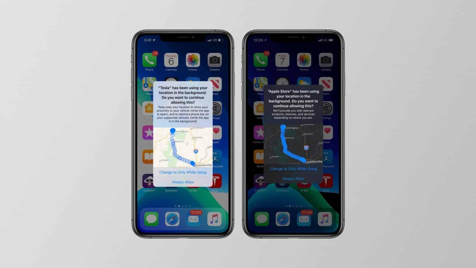 iOS 13 App Tracking