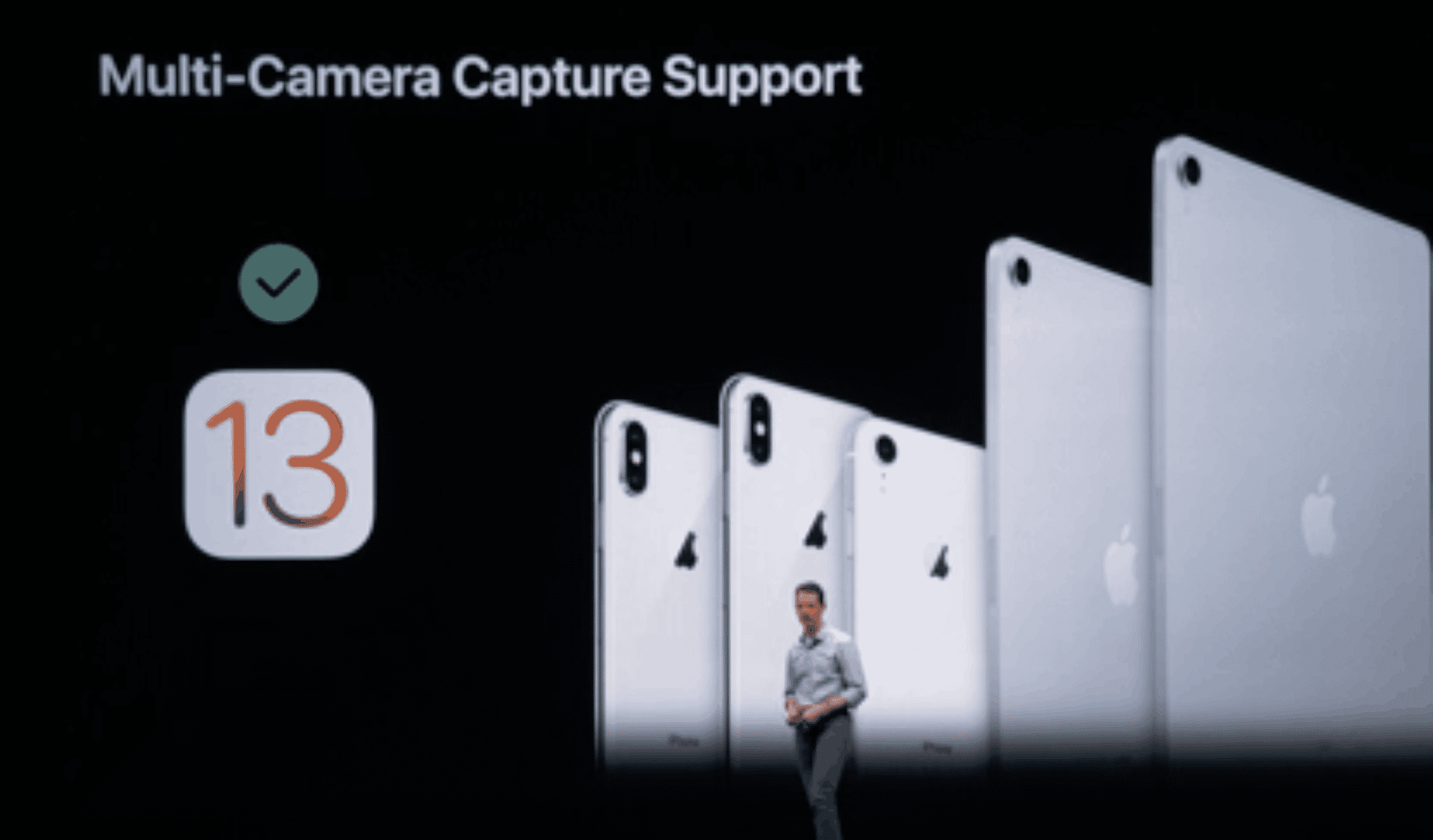 iOS 13 Multi-Cam