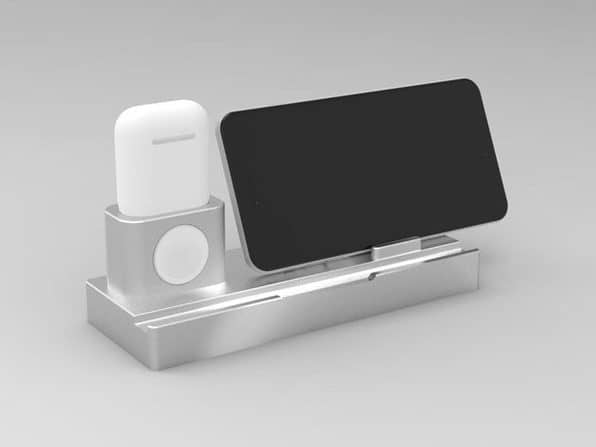 iPM Wireless Charging Docks with Removable Charging Pad for iPhone