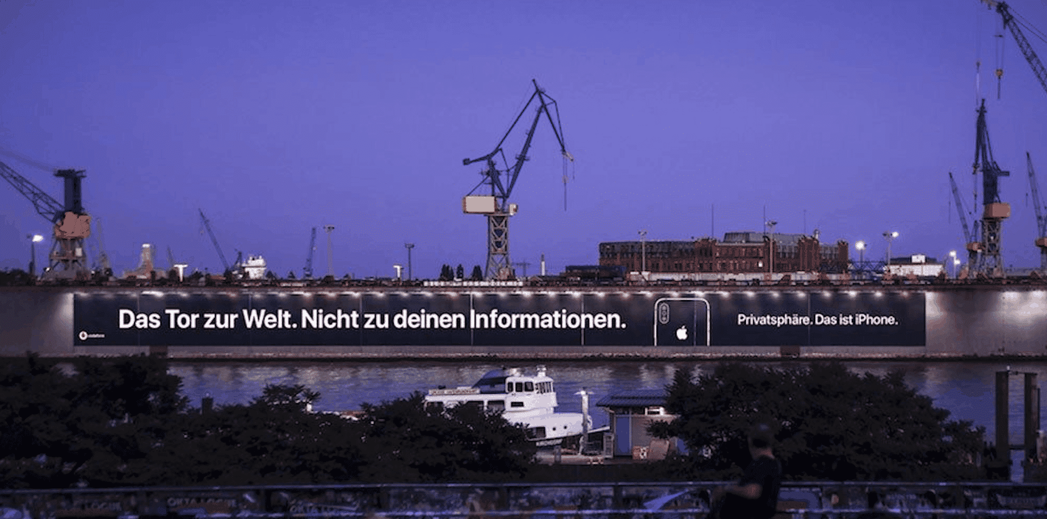 Apple Privacy Ad Germany