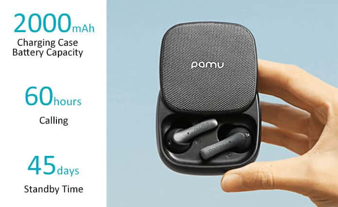 Battery life earbuds