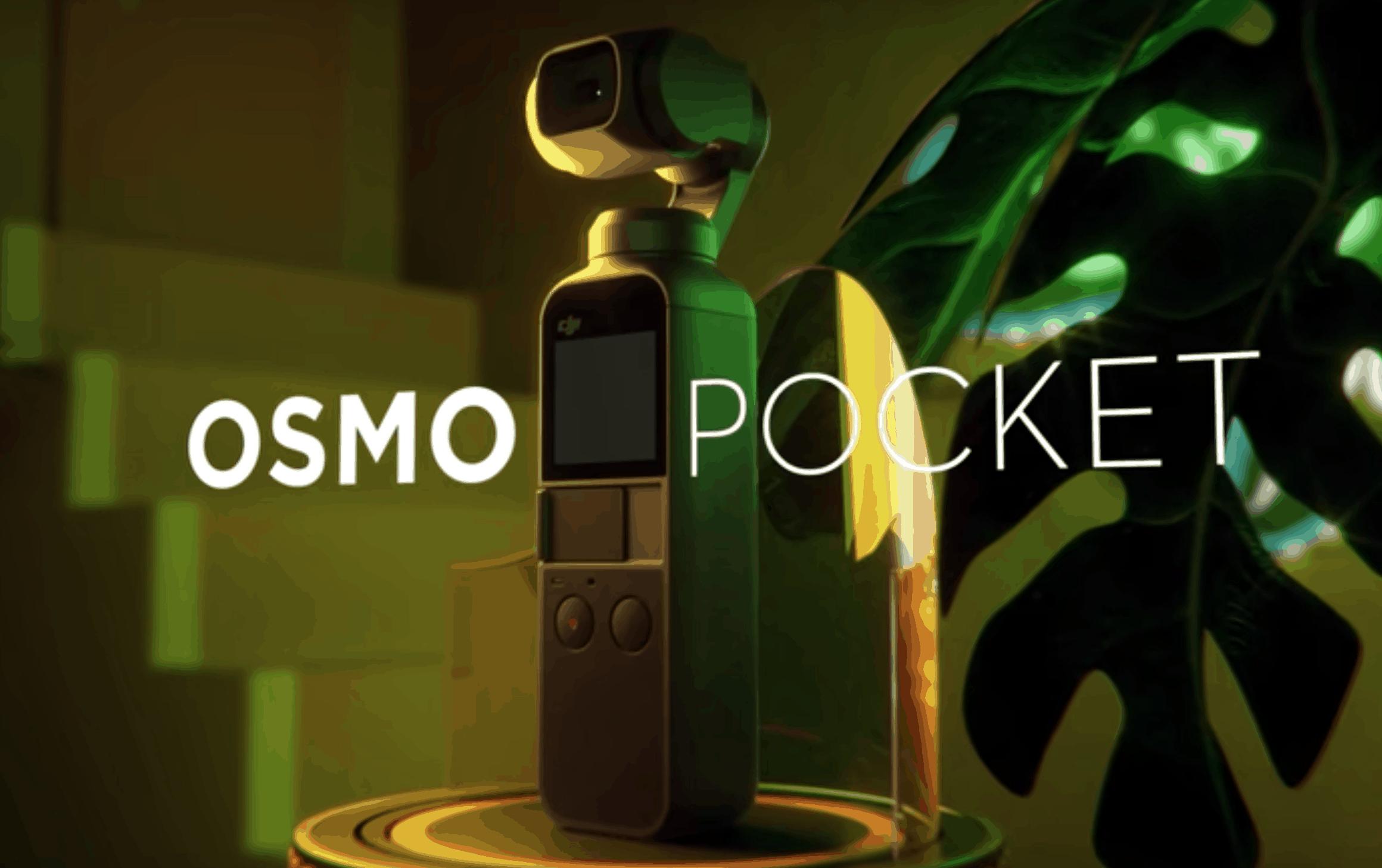 DJI Osmo Pocket Handheld 3-Axis Gimbal with 4K action Camera