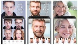 How to age two faces on FaceApp