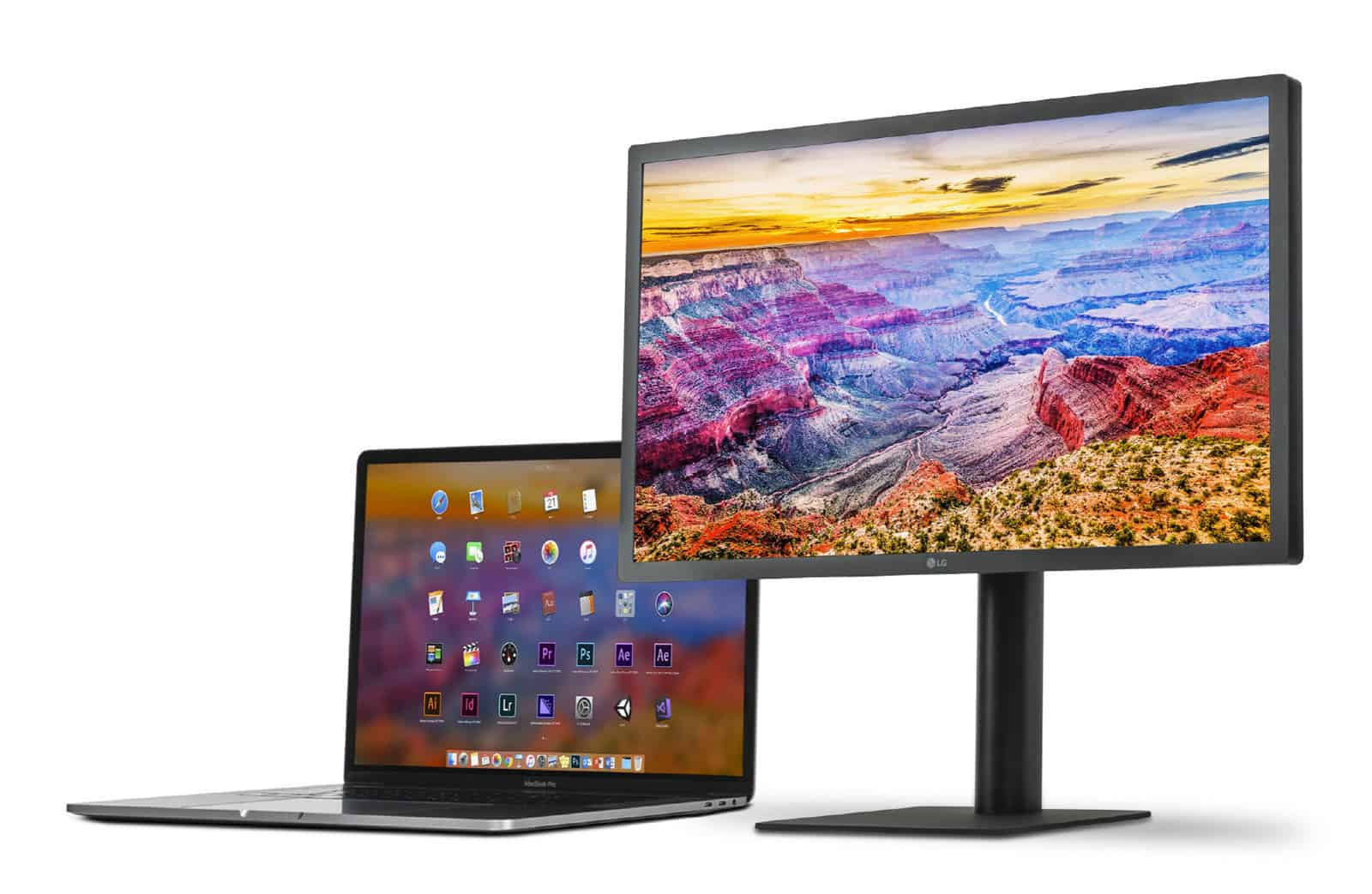 LG 5K UltraFine Display Supports iPad Pro Mac