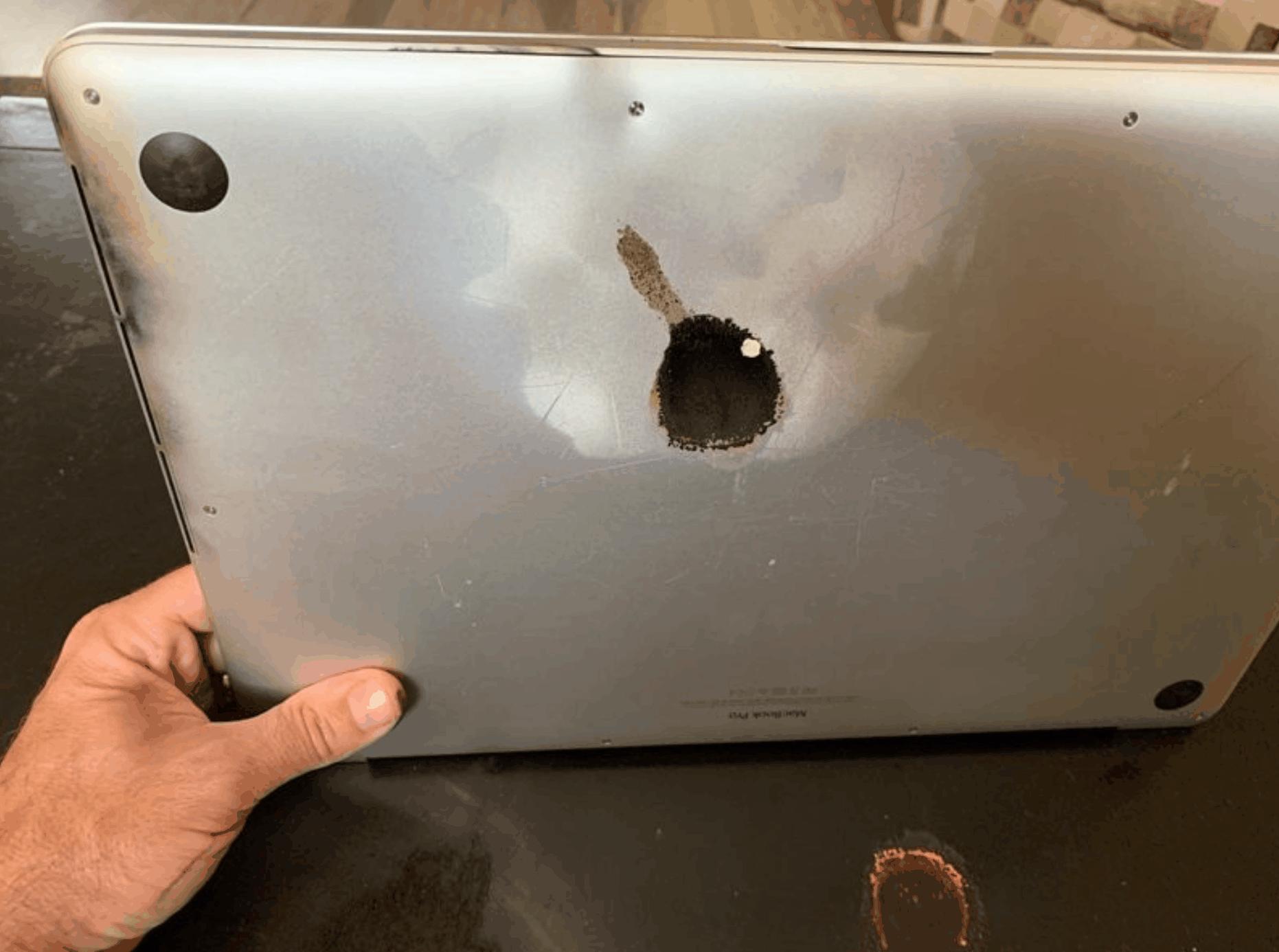 MacBook Pro Explodes
