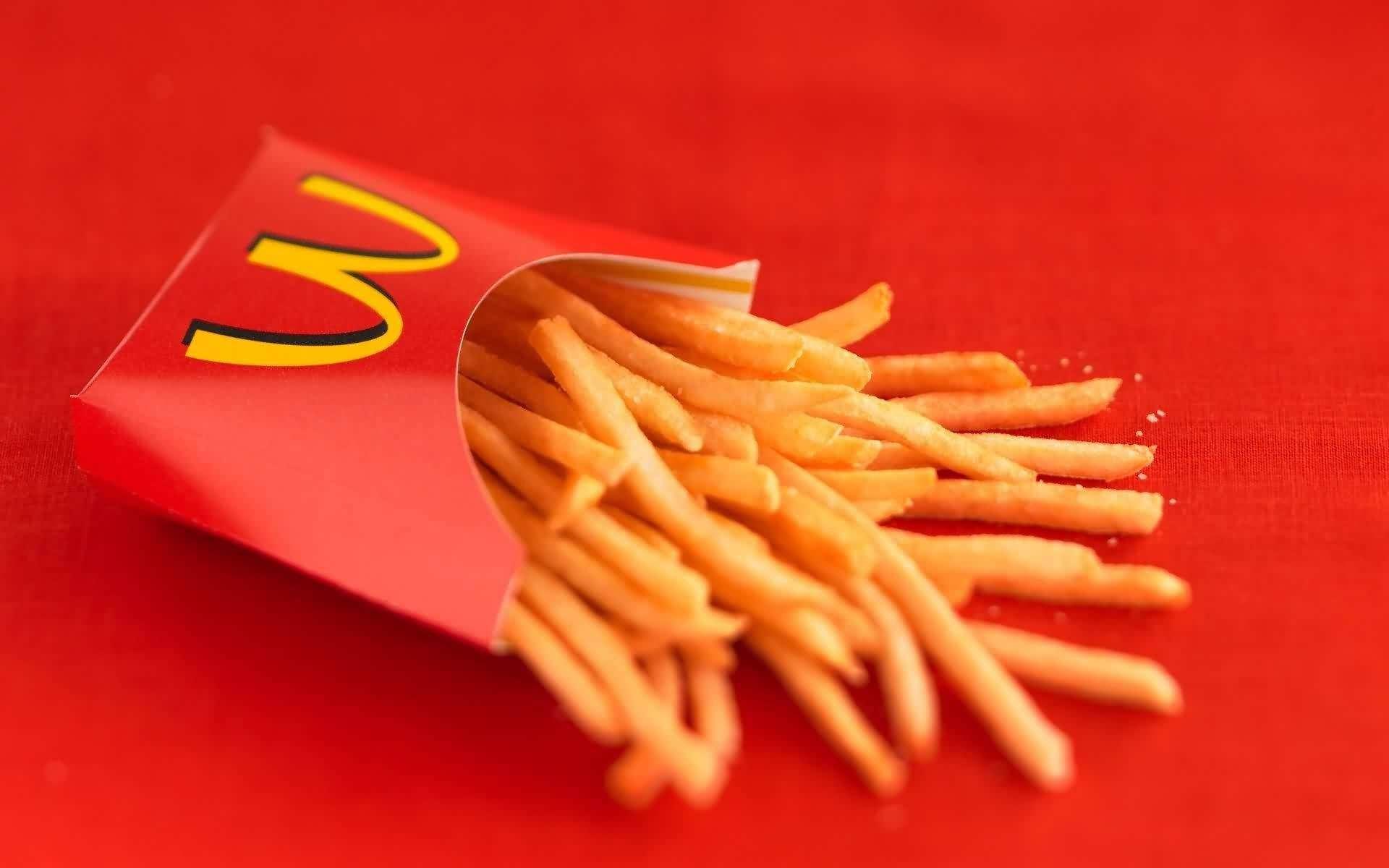 McDonald Fries Apple Pay