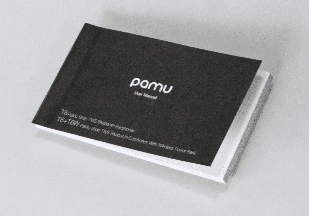 PaMu Slide Earbuds user manual