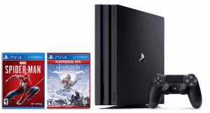 PlayStation 4 Pro 1TB Console with Spider-Man and Horizon Zero Dawn