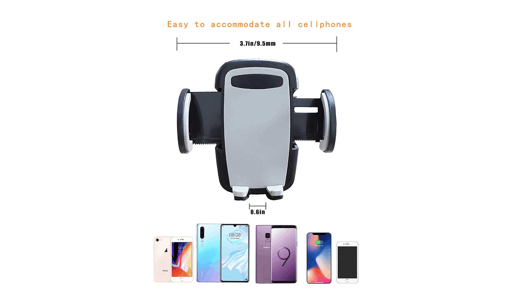 car mount phone holder by Oternal