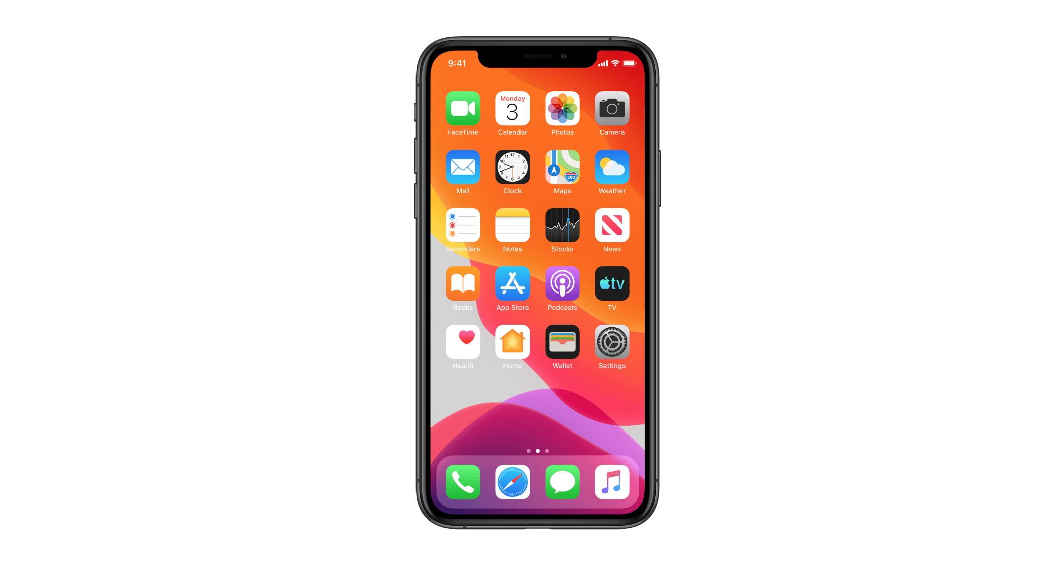 iOS 13 Beta on iPhone