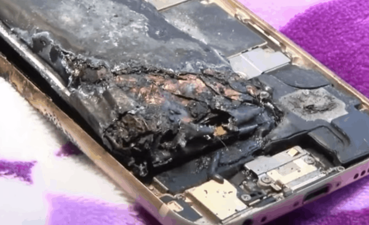 iPhone 6 Fire