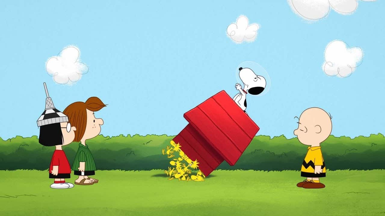 Apple TV Snoopy in Space