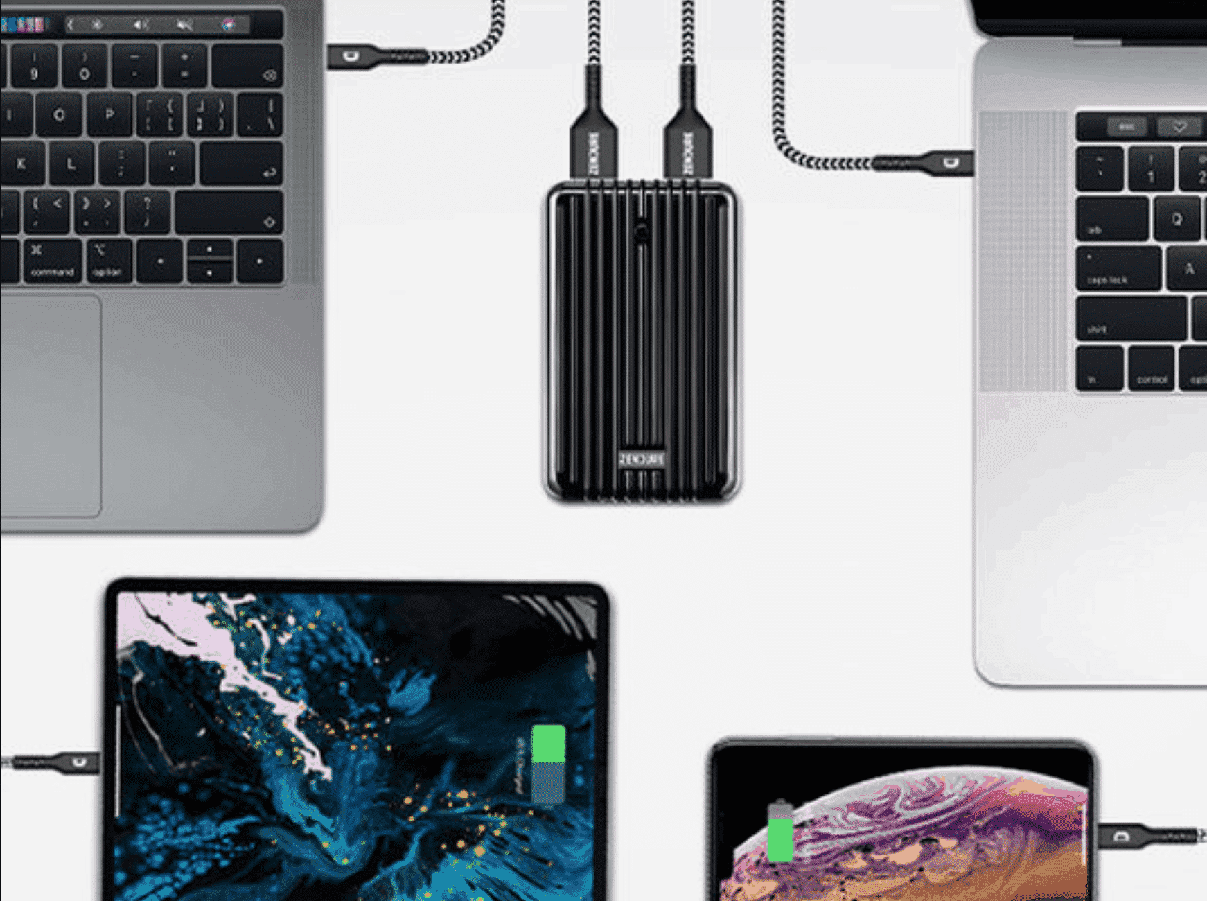 portable charger for the iPhone and MacBook