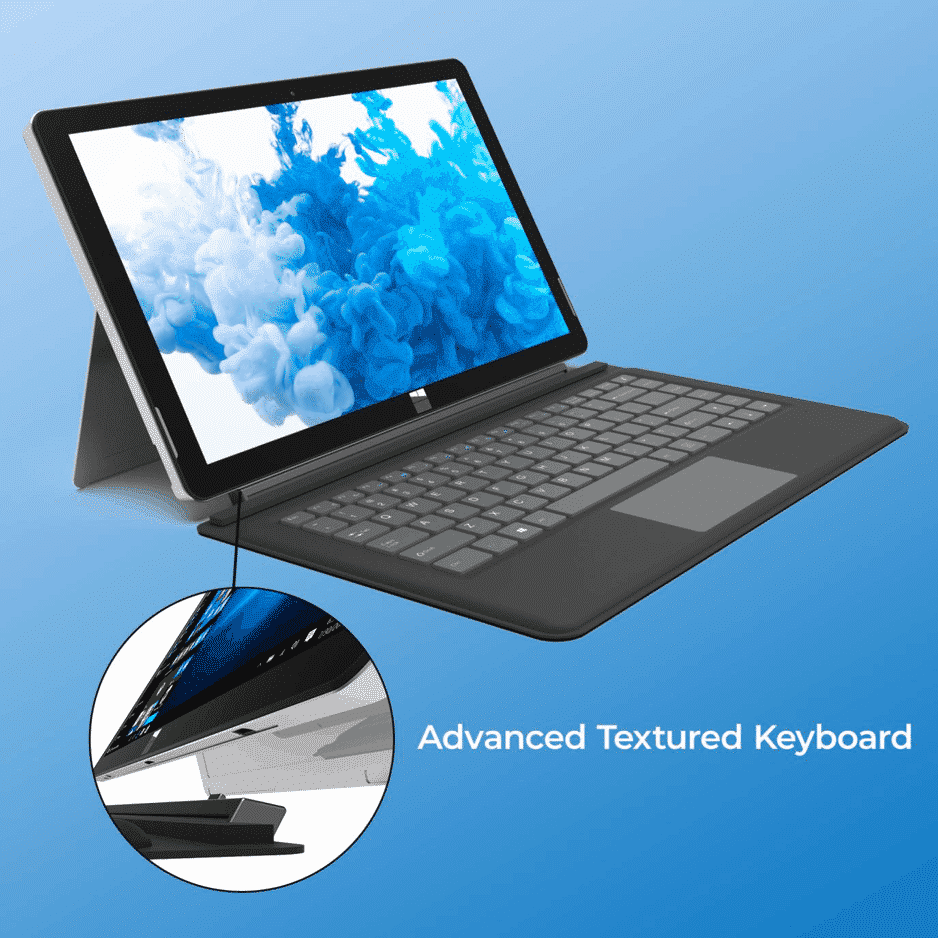 2-in-1 convertible tablet