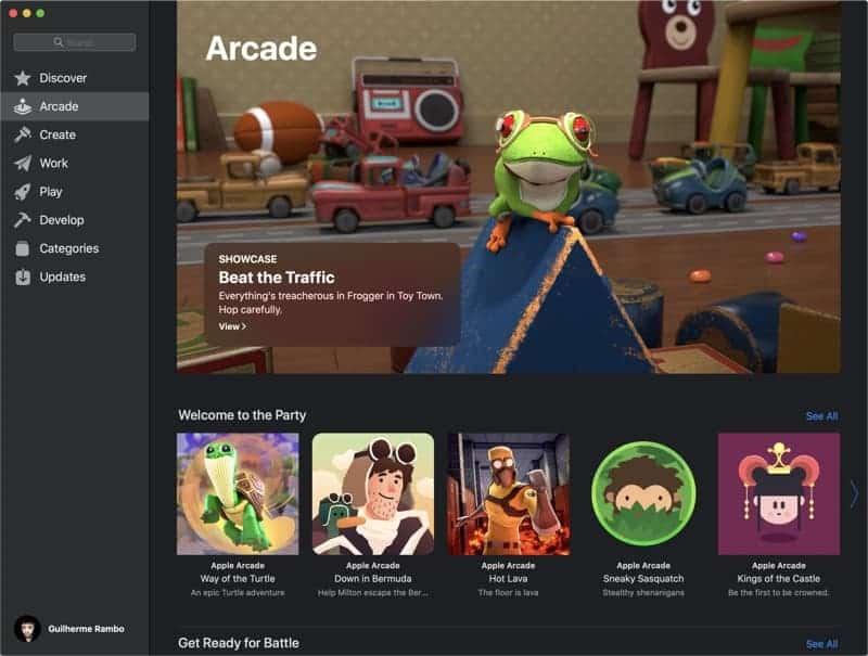 Apple Arcade Screenshot