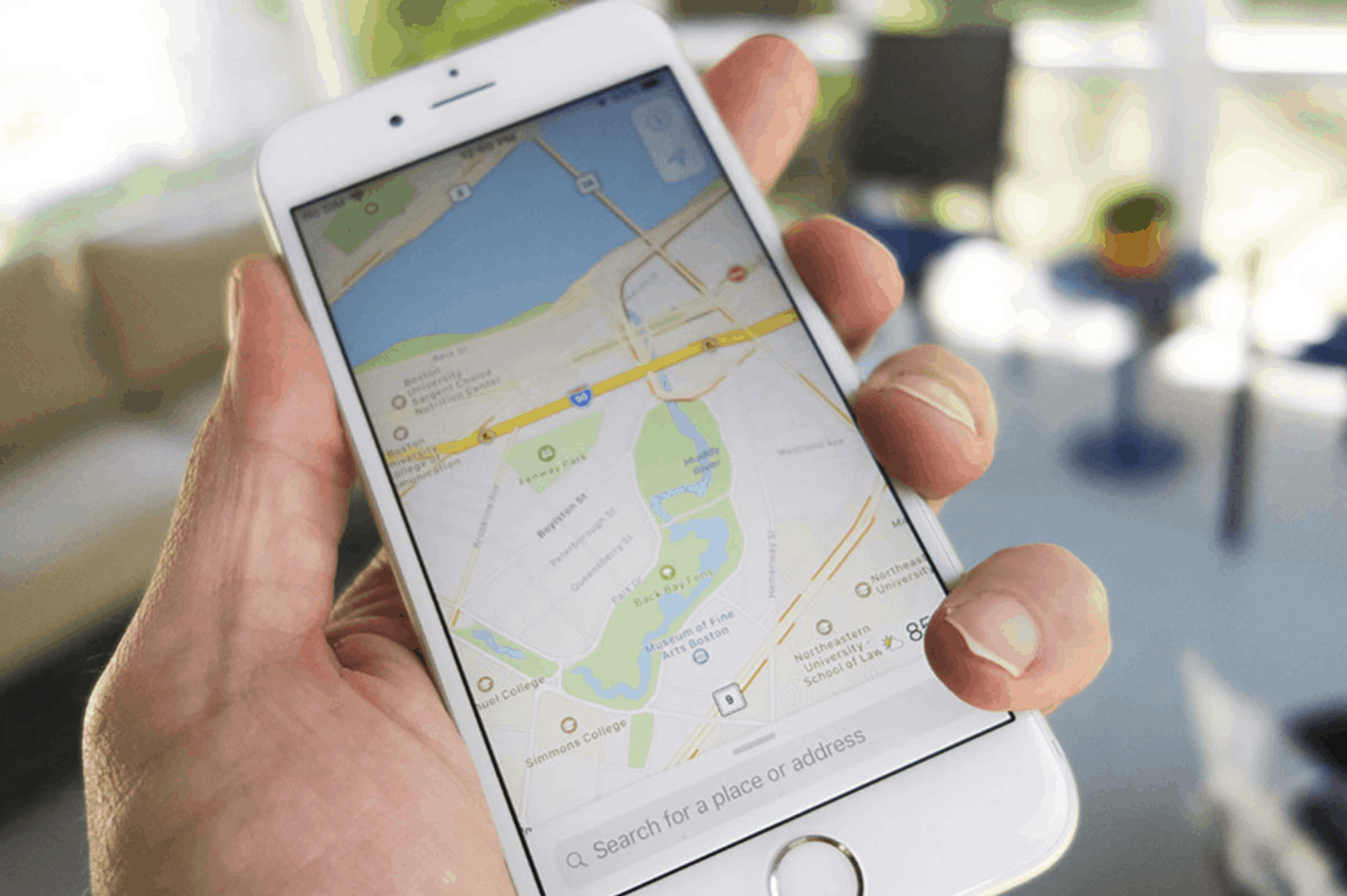 Apple Maps Louisiana, Southern Mississippi Texas