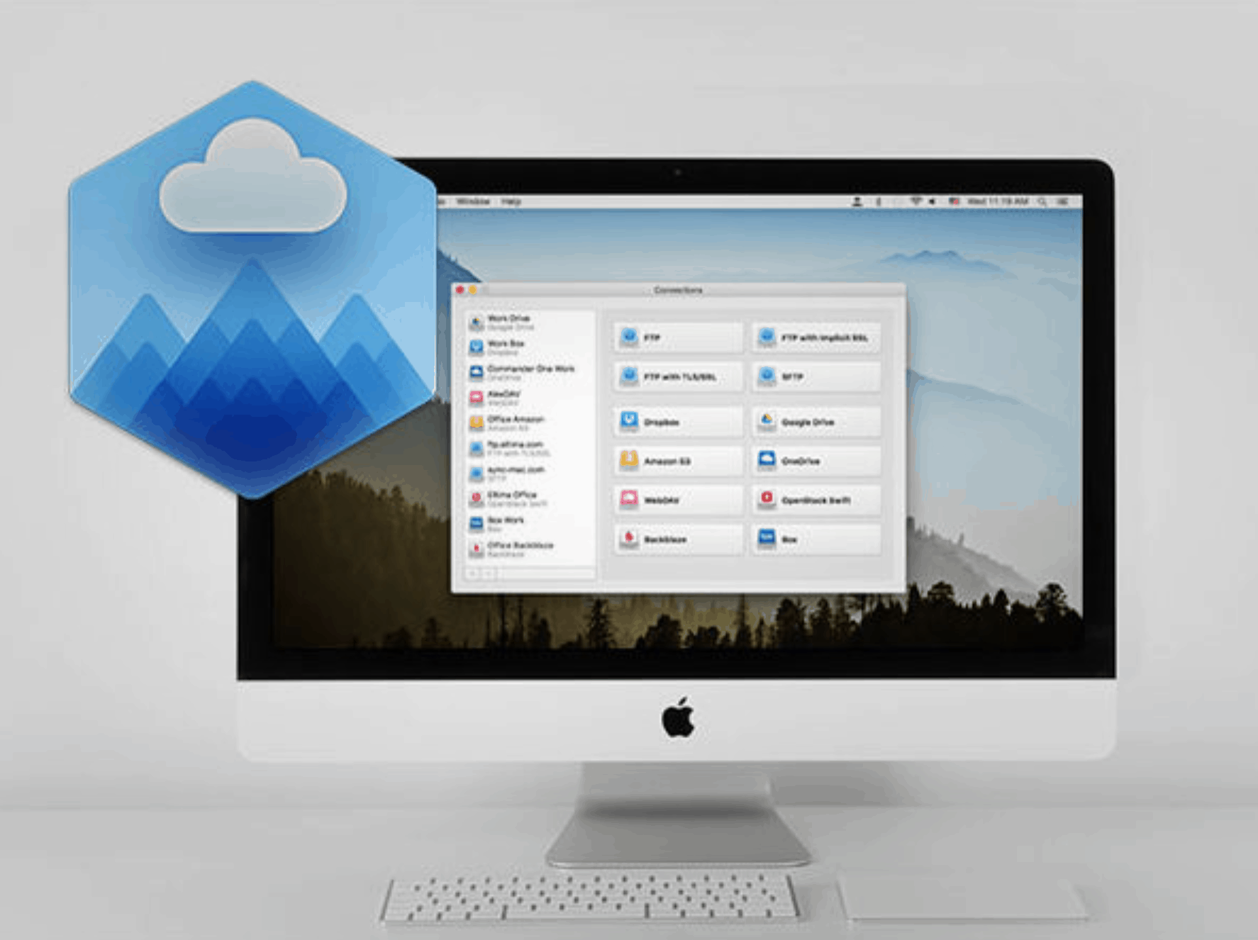 Get 57% off on the CloudMounter for Mac with lifetime license
