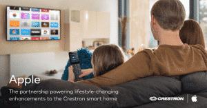 Crestron Siri Apple TV