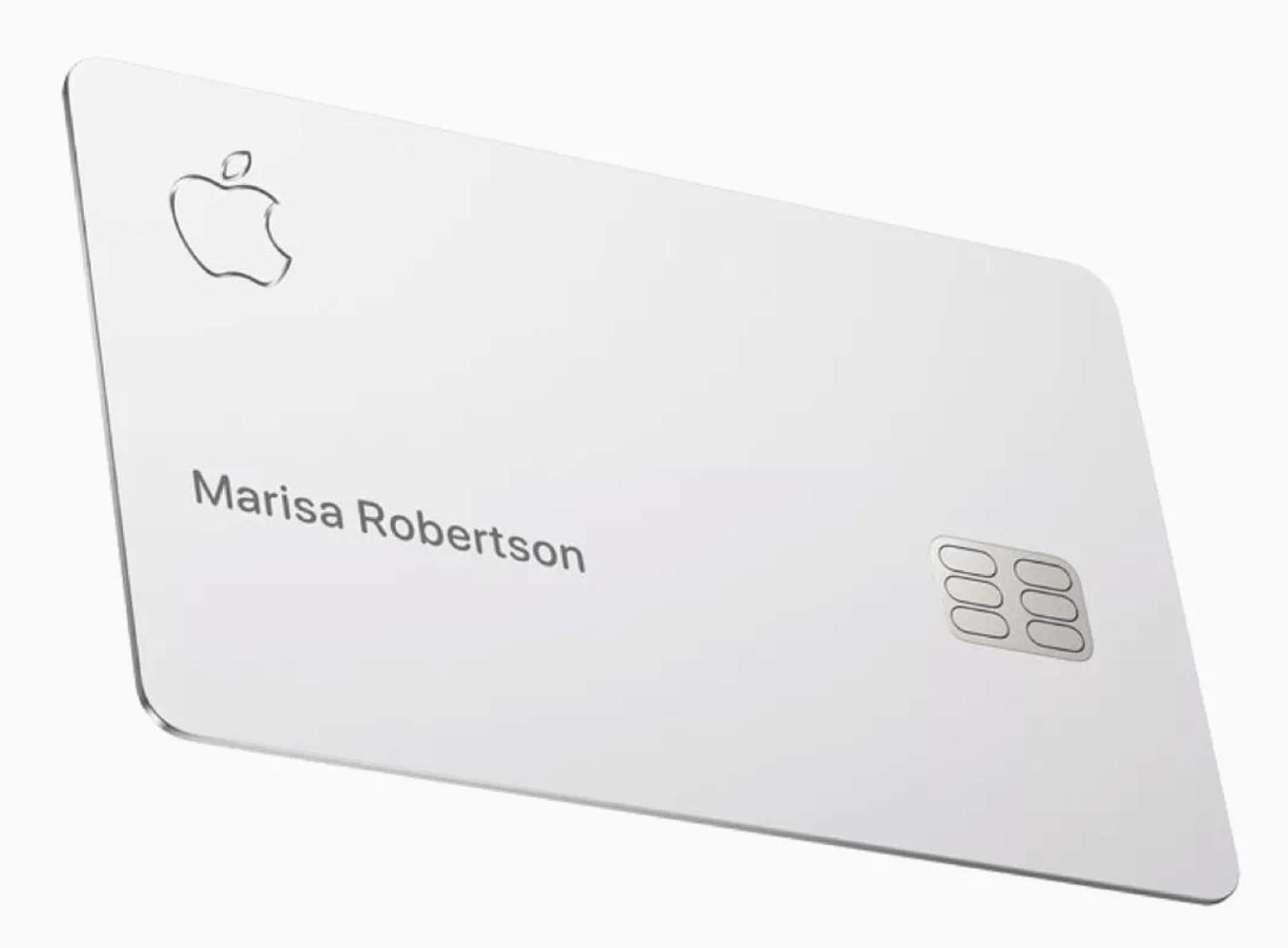 Customer Apple Card Available