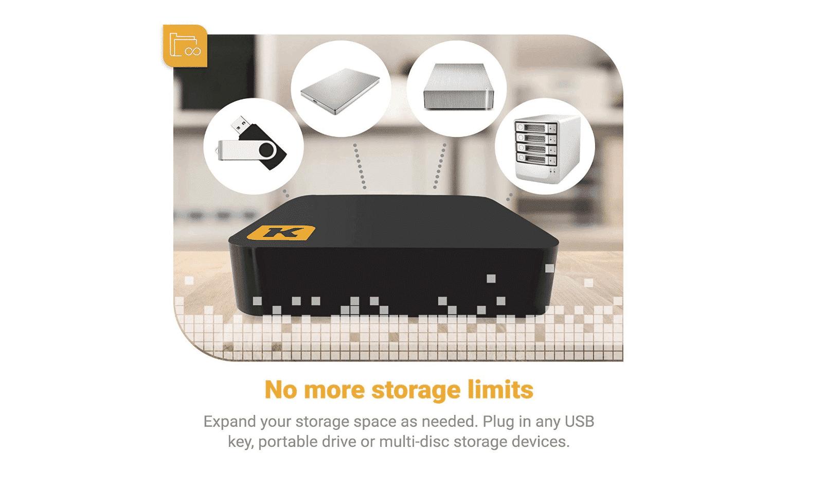 Kwiltgo Wireless Storage Drive for iPhone