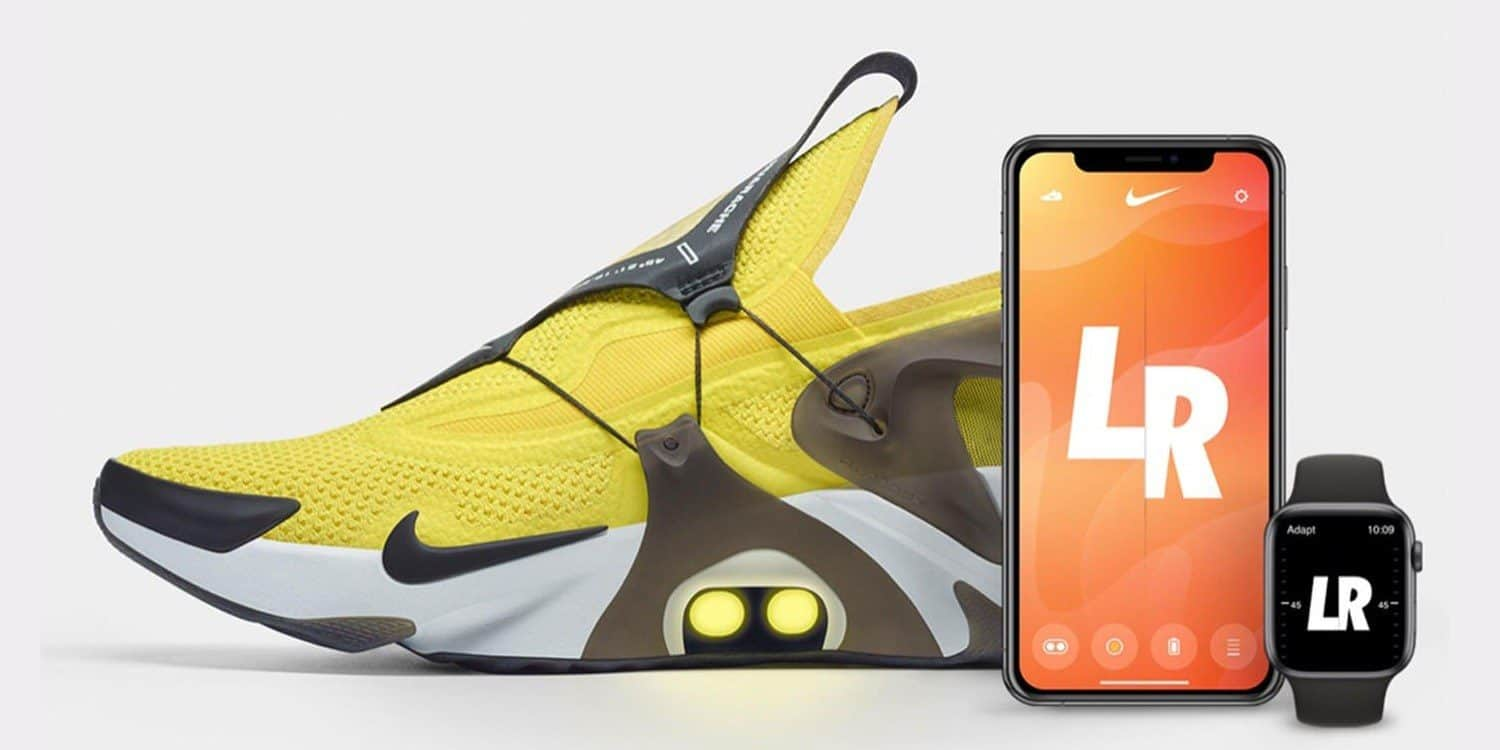 Nike FitAdapt Lacing Apple Watch Siri
