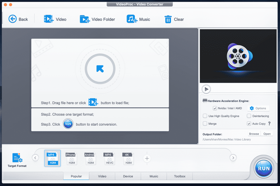 Powerful Video Editing and Other Features on VideoProc