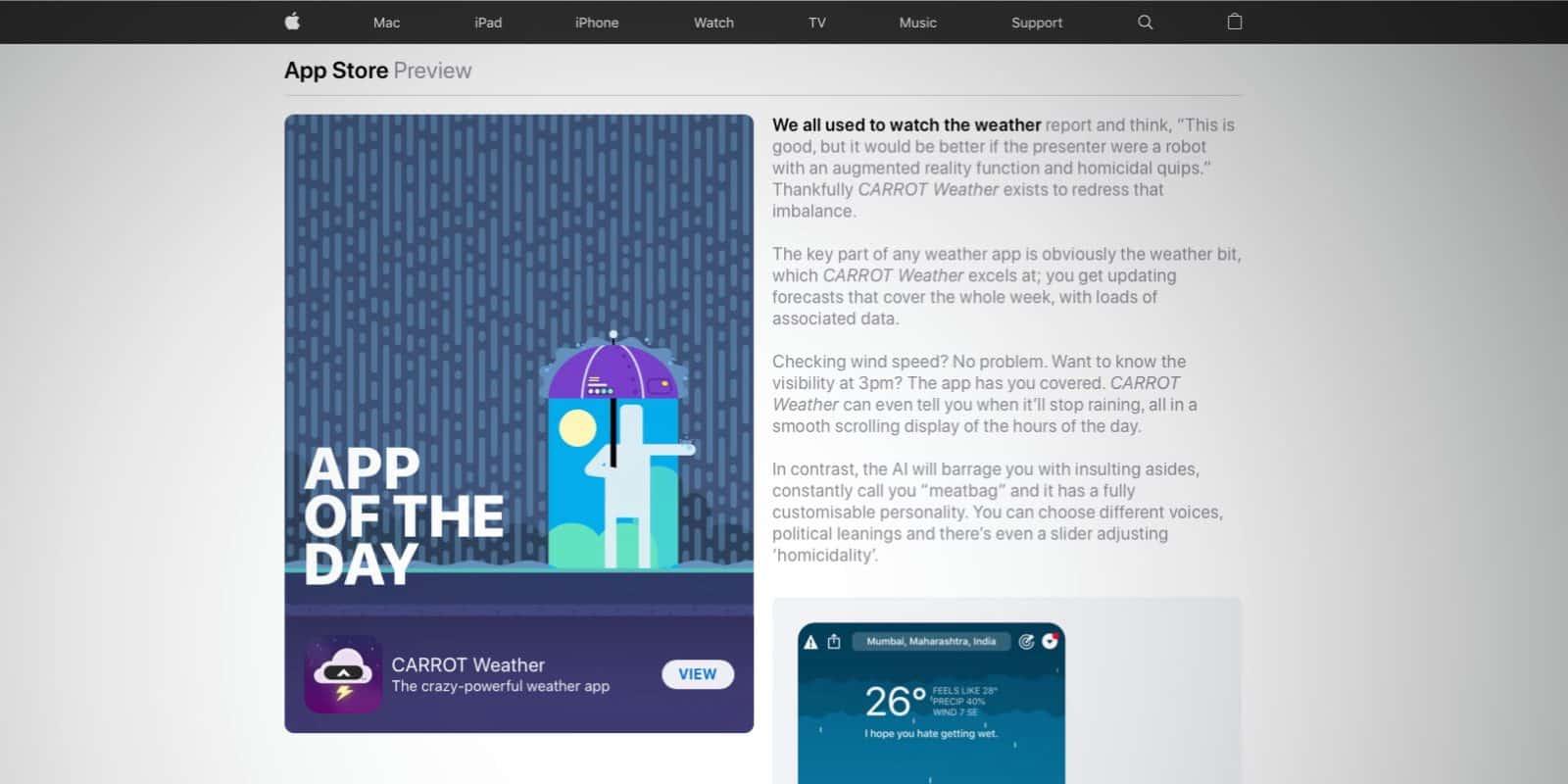 'Today' Stories in App Store Desktops