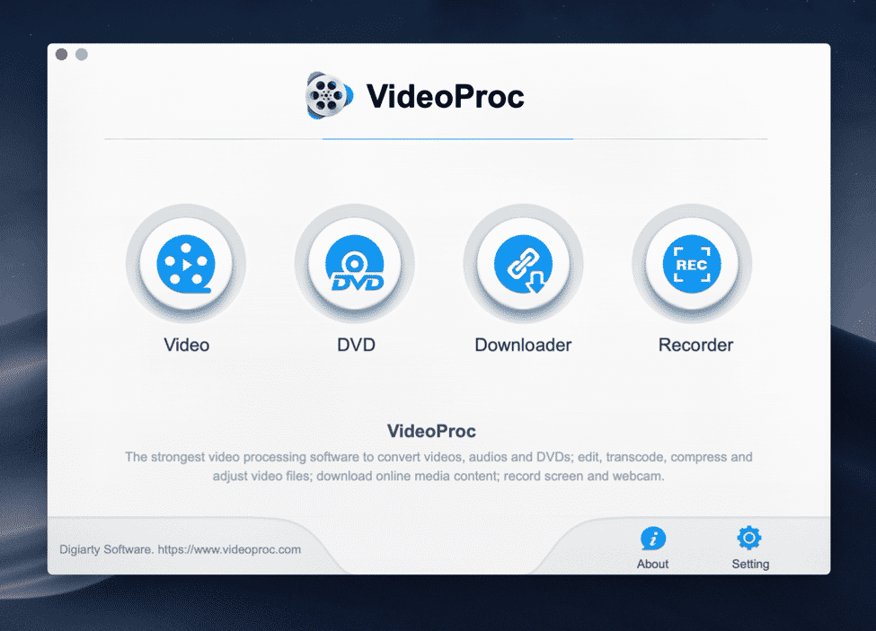 VideoProc Screenshot